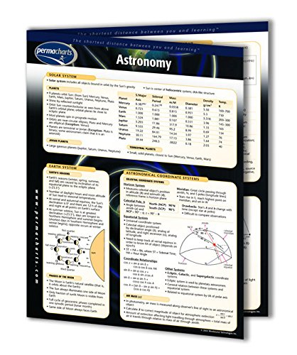 Astronomy Guide - Science - Solar System Quick Reference Gui