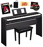 Yamaha P-45 Digital Piano - Black Bundle with