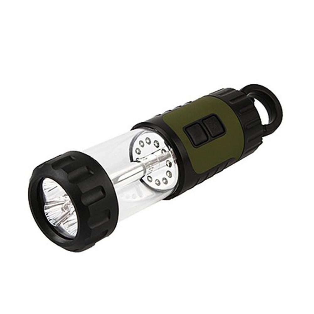 Camp-Taschenlampe Dynamo Camping Lampe Handkurbel LED Taschenlampe Multi-Funktions-Außenleuchte