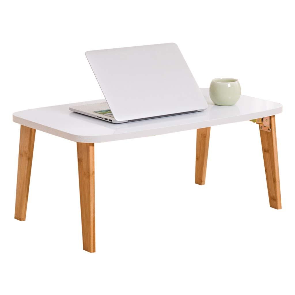 ホームライティングデスク、白い寝室のベッドダイニングテーブル学生の仕事ノートパソコンのテーブル折りたたみ式リビングルームの研究小さなコーヒーテーブル (サイズ さいず : 60*40*26CM) 60*40*26CM  B07RTN1CWD