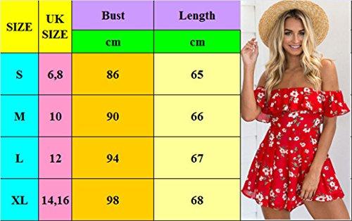 6 Summer Style P Size Holiday Style Mini 10 16 Beach Jumpsuit K Womens Ladies UK Playsuit Size Dress Shorts UK UK 16 FOWAZvTcnF