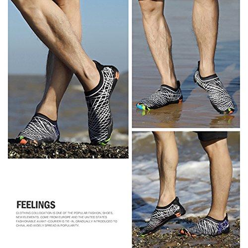 Frauen Schuhe Schuhe Schnell Strand Weiß Barfußwasser Aqua Männer für Haut Tauchen Schwimmen Trocknend Yoga Schuh Surfen SEcWqUfdn