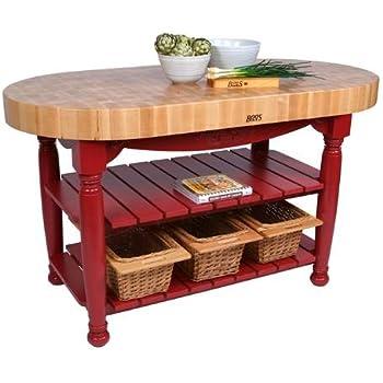 American Heritage Harvest Table Kitchen Island
