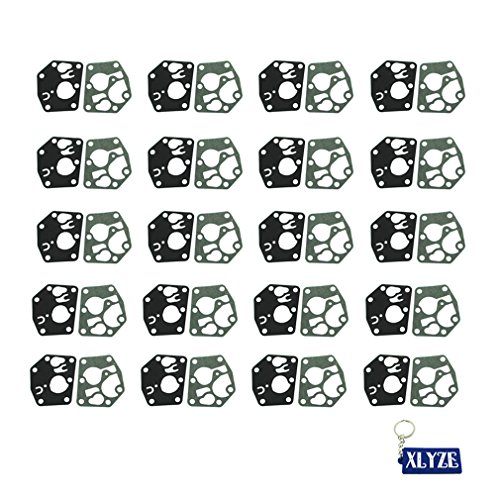(XLYZE 20x Carburetor Diaphragm Gasket Kit for Briggs & Stratton 495770 795083 5083H 5083K Craftsman)