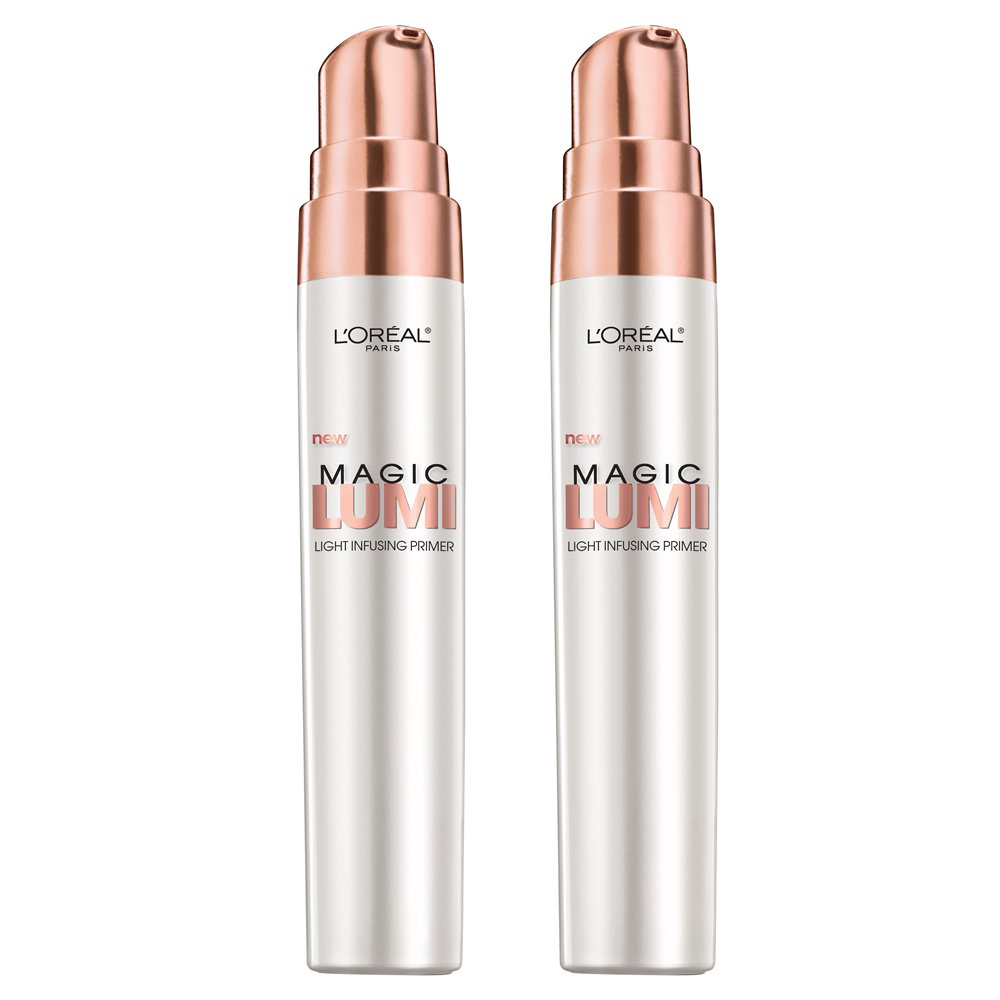 L'Oreal Paris Cosmetics Magic Lumi Primer, 2 Count