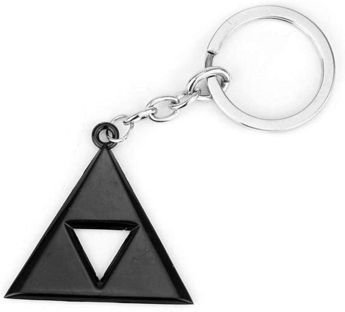 Zelda keychain pendant Game Peripheral The Legend of Zelda Keychain Shield Logo Helia Shield Decoration Pendant Male Pendant Personality