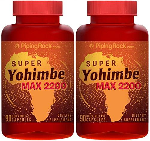 Супер йохимбе Max 2200 2 Бутылки х 90 капсул