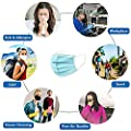 50PCS Disposable 3-Layer Masks, Anti Dust Breathable Disposable Ear Loop Mouth Face Mask, Comfortable Medical Sanitary Surgical Mask