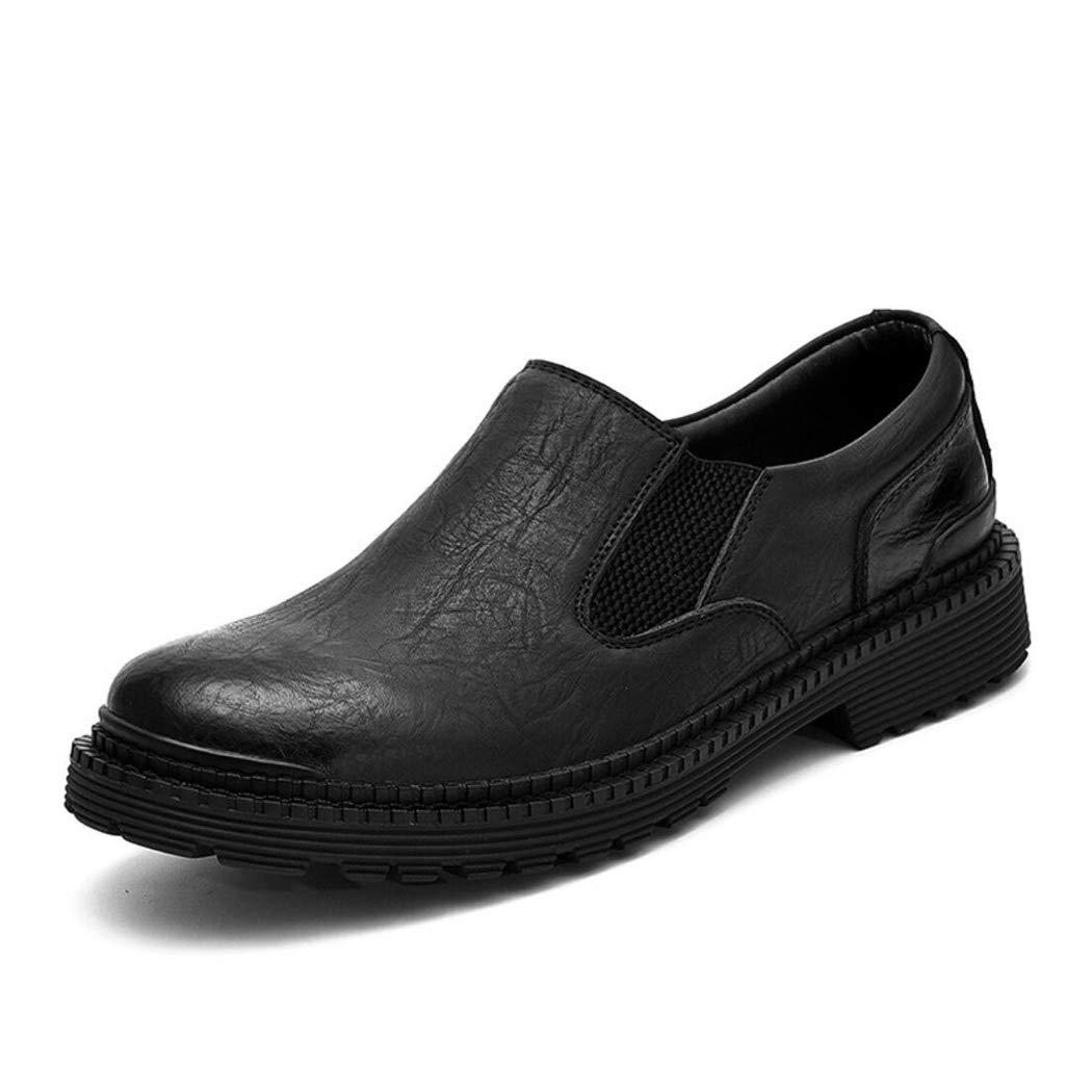 Zxcvb Herren Freizeitschuhe Original Oxfords Lederschuhe Business Soft Vollnarben Casual Bequeme Kleid Schuhe für Männer