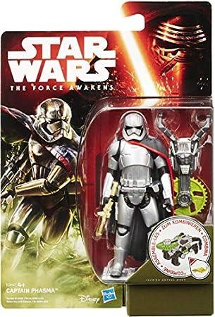 Recrea las escenas y aventuras de Star Wars,Combina la sierra del Capitán Phasma con las armas de lo