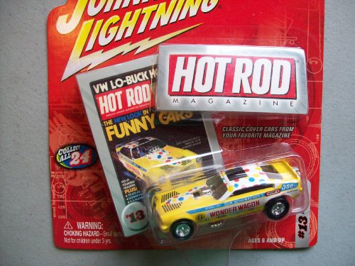 Johnny Lightning Hot Rod Magazine Wonder Wagon Funny Car