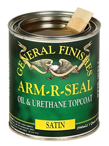General Finishes ASQT Arm-R-Seal Urethane, 1 quart, Satin (Seal Coat compare prices)