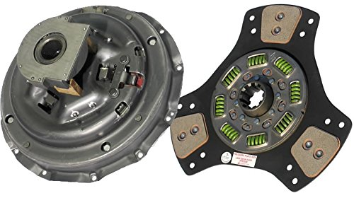 IATCO 107213-5A-IAT 14'' x 1-3/4'' Stamped Steel Clutch (Single-Plate, 3-Paddle / 8-Spring, 2800 Plate Load / 650 Torque)