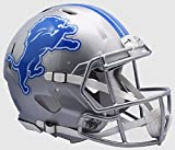 DETROIT LIONS NFL Riddell Revolution SPEED Football Helmet