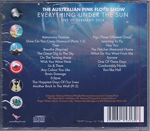 the australian pink floyd show time & breathe