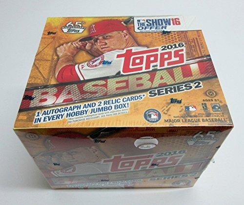 2016 Topps Baseball Series 2 Jumbo Box (Hobby) 10/50 ()