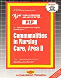 Commonalities in Nursing Care, Area B, Rudman, Jack, 0837355427