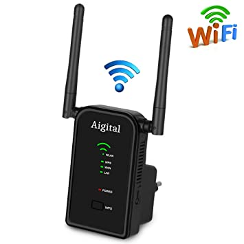 Aigital WiFi Booster Long Range Extender Router 300Mbps Broadband Wifi  Extender Hotspot 2 4GHz Wireless Repeater/Access Point/Router with High  Gain