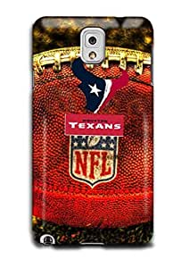 Tomhousomick Custom Design The NFL Team Houston Texans Case Cover For Samsung Galaxy Note3 N9000 Personality Phone Cases Covers