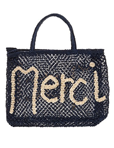 The Jacksons Women's Merci Women's Blue Small Jute Bag Blue by THE JACKSONS