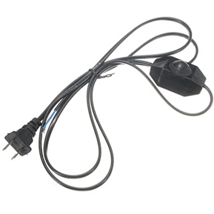 woopower awg switch modulator dimming cable light modulator lamp line  dimmer extension cord us plug awg