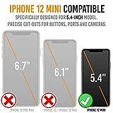 Battery Case for iPhone 12 Mini, 4000mAh Slim