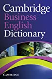 Cambridge Business English Dictionary, , 0521122503