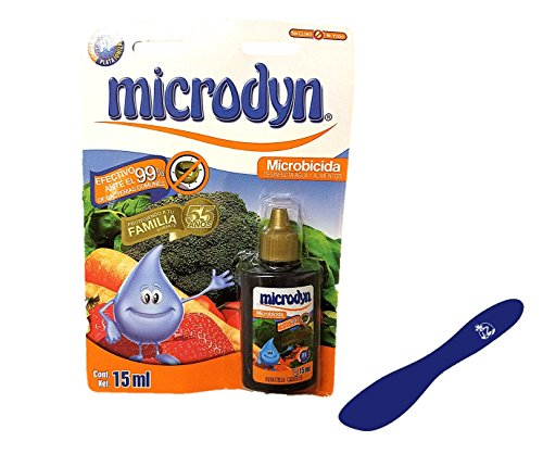 Microdyn Fruit and Vegetable Wash 15ml (Pack of 2) and Especiales Cosas Spatula