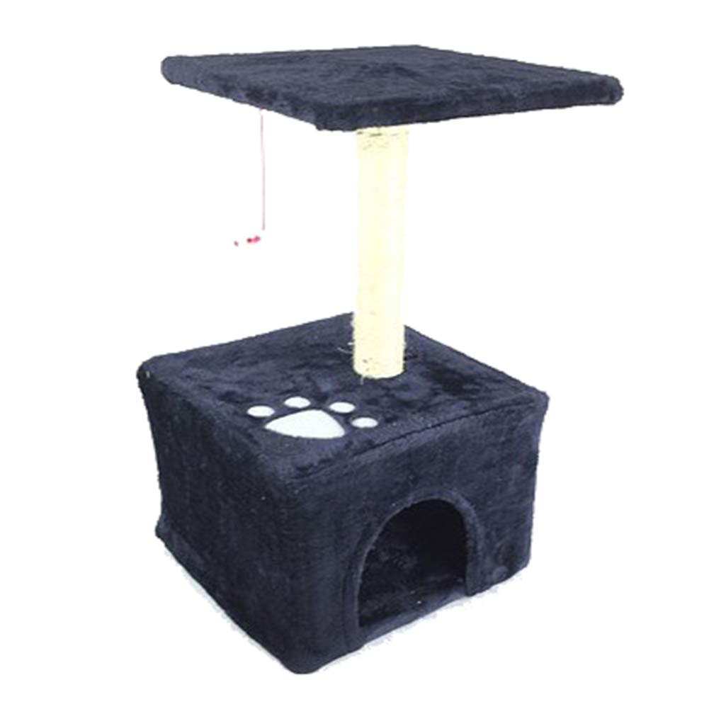 Pet cat Casual Climbing Frame, Felt, cat Bed Apartment cat Tower Lounge Chair, Entertainment Grabbing Board Toy, Stable,bluee