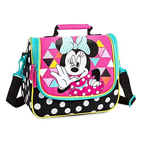 Disney Minnie Mouse Lunch Tote Black