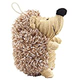 Luck Dawn Pet Hedgehog Dog Toys Interactive Squeaky Hide and Seek Plush Sound Chew Toy