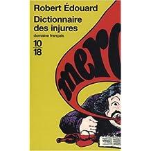 Dict.des injures