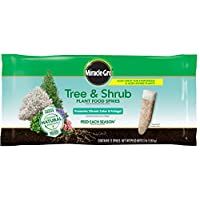 Miracle-Gro Tree & Shrub Fertilizer Spikes - 12 PK