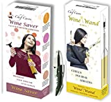 Wine Gift Bundle - Wine Saver, Wine Wand & Wine Key from Chef...