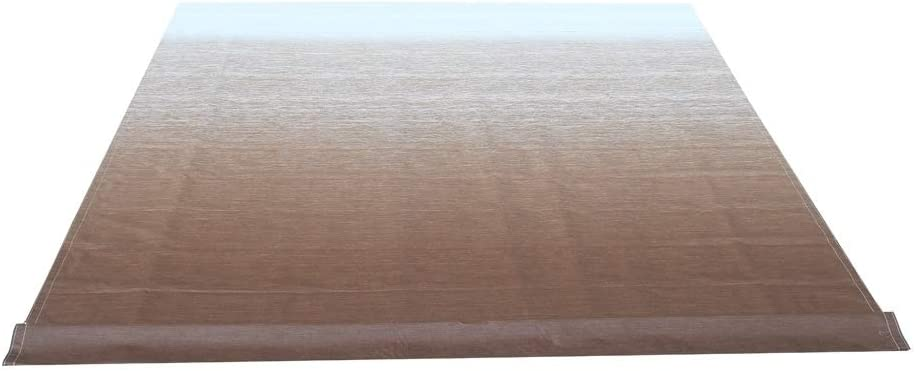 ALEKO Retractable RV Awning Fabric Replacement - 20x8 ft Shade Cover for Camper Trailer or Patio - Brown Fade