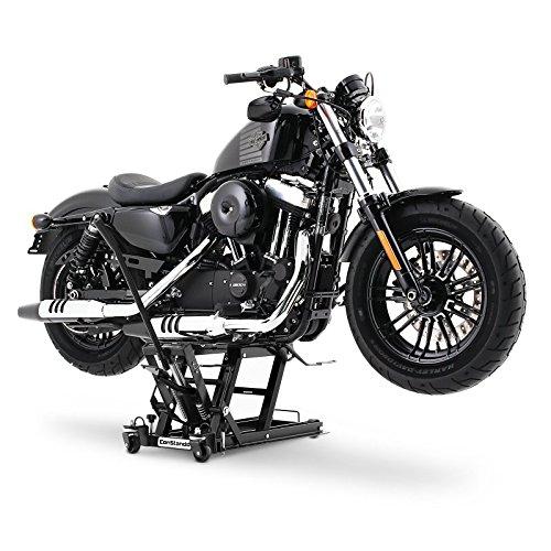 Cric moto ConStands Mid-Lift L noir pour Suzuki Intruder VL 125 Intruder VL 250//1500 LC Intruder VS 600//750//800//1400 Intruder VL 800 Volusia