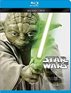 Star Wars: Episodes I-III Trilogy [Blu-ray + DVD] (Bilingual) (B00E98G4VI) | Amazon price tracker / tracking, Amazon price history charts, Amazon price watches, Amazon price drop alerts