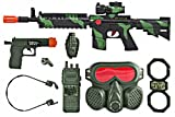 M16 Commando SWAT Force Friction Toy Gun Pretend Play Set