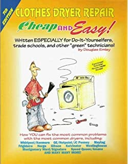 Washing machine repair cheap and easy douglas emley clothes dryer repair cheap and easy fandeluxe Choice Image