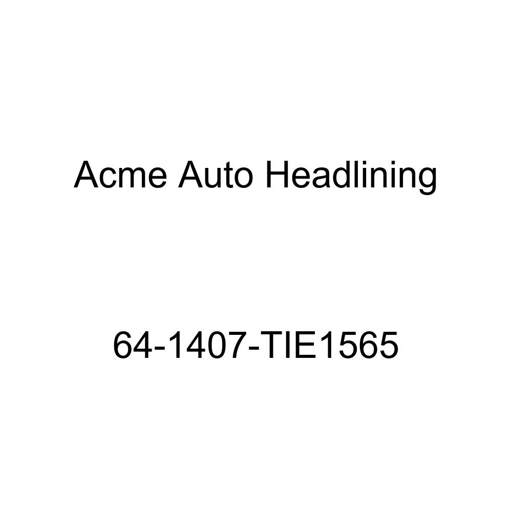 Chevrolet Corvair 2 Door Club Coupe 5 Bow Acme Auto Headlining 63-1422-TIE1514 Silver Blue Replacement Headliner