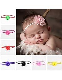 Kocome 10Pcs Girls Baby Toddler Flower Hairband Headband Accessories Headwear