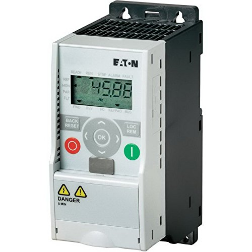 Eaton MMX34AA012F0-0 Adjustable Frequency AC Drives, 480VAC Supply Voltage, 7 1/2HP Power Rating, 12A Input Current