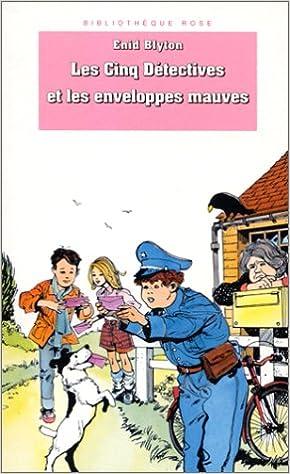 Amazon Fr Bibliotheque Rose Les Cinq Detectives Les