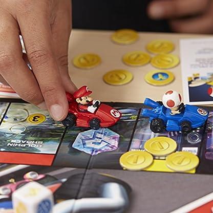 Monopoly Gamer Mario Kart, Gesellschaftsspiel für Erwachsene & Kinder, Familienspiel, der Klassiker der Brettspiele, Gemeinschaftsspiel für 2 - 4 Personen, ab 8 Jahren 4