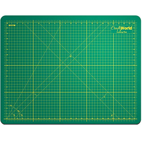 Crafty World Deluxe Cutting Mats - Double Sided Used by Pro Hobbyists...