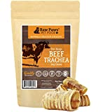 Cheap Raw Paws 3-inch Beef Trachea Dog Chews, 10 Pack – Packed in USA – Dehydrated Beef Trachea for Dogs from Free-Range, Grass-Fed Cows with no Antibiotics or Hormones, Healthy Rawhide Alternative for Dogs