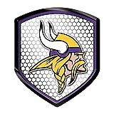 NFL Minnesota Vikings Team Shield Automobile Reflector