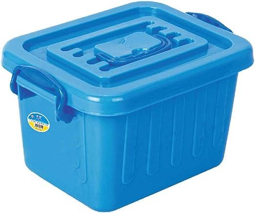 YQAD Hogar de Almacenamiento de plástico Grande - Caja de apilamiento de Cajas de Resistencia a Las