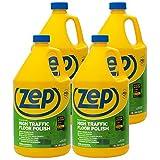 Zep High Traffic Floor Polish 128 Ounce ZUHTFF128