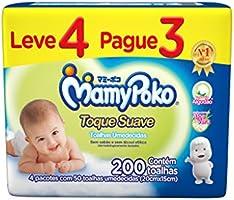 Lenço Umedecido MamyPoko, pacote com 200 unid.